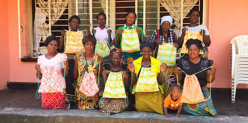 Sews in Africa